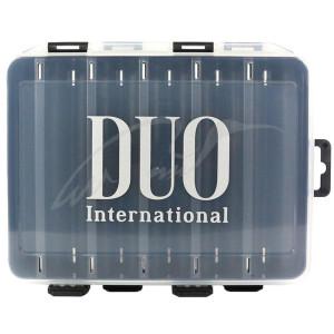 Коробка DUO Reversible Lure Case 145 Pearl Black/Clear